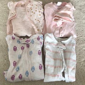 Baby girl pajamas - Aden and Anais